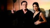 Werdende Eltern: Daniella Pick und Quentin Tarantino