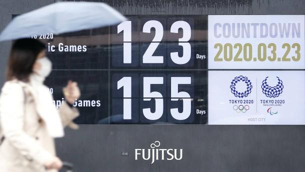 Auf Tokio lastet der Fluch der 40 Jahre