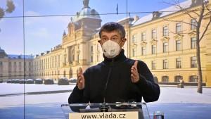 Tschechische Regierung verhängt neuen Notstand für zwei Wochen