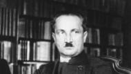 Er lässt seine Gegner nicht los: Martin Heidegger