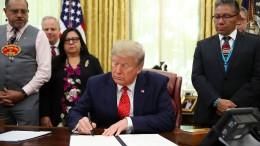 Trump unterzeichnet Hongkong-Gesetz