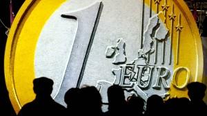 Euro auf Zweijahreshoch