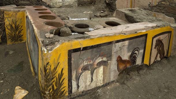 Antiker Schnellimbiss in Pompeji begeistert Forscher