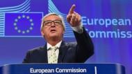 Juncker will Brexit für Euro-Vollendung nutzen