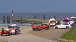 Kleinflugzeug über der Nordsee abgestürzt