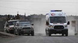 Türkischer Soldat trotz Waffenruhe in Nordsyrien getötet