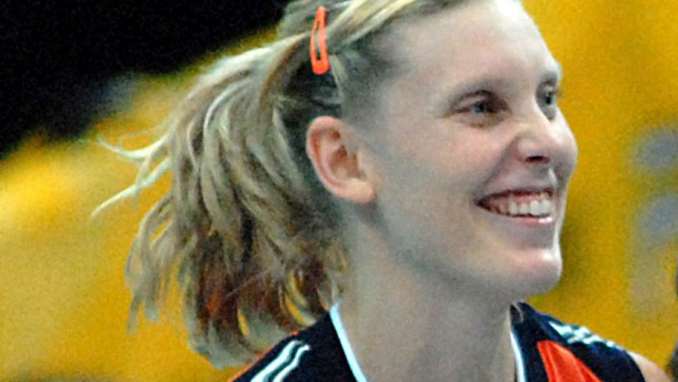 Bild / Volleyball-Rekordnationalspielerin Ingrid Visser