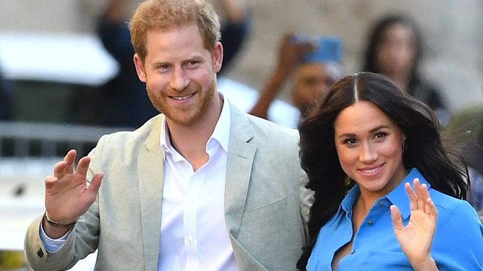 Meghan und Harry bei einem Termin in London