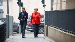 Bundeskanzlerin Merkel hat gewählt