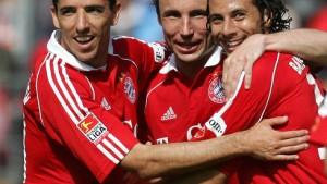 Versöhnlicher Auswärtsausflug für die Bayern