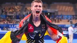 Turner Lukas Dauser gewinnt Olympia-Silber