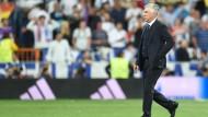 Ancelotti hadert mit Schiedsrichterentscheidungen