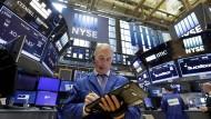 Viel los an der Wall Street - Skepsis gibt es nur bei den Technologieaktien