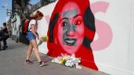 Savita Halappanavar war in Irland eine Abtreibung verboten worden, sie starb an den Folgen einer Schwangerschaftskomplikation. Mit ihrem Bild warben die Abtreibungsbefürworter für ein Ja zur Gesetzesänderung.