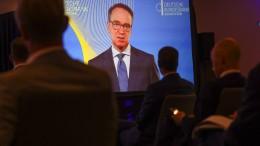 Weidmann tritt beim digitalen Euro auf die Bremse