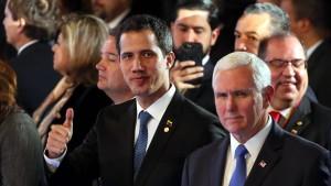 Amerika setzt Maduro mit neuen Sanktionen unter Druck