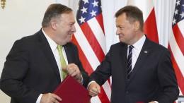 Amerika schließt Vertrag zu Truppenverlegung nach Polen