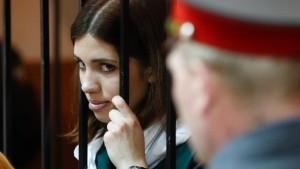 Nadeschda Tolokonnikowa bleibt in Haft