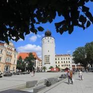 Der Frauenturm am Marienplatz in Görlitz