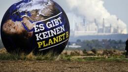 Die Erde wird schneller wärmer