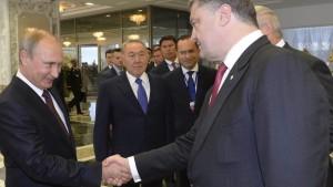 """Russische Soldaten """"zufällig"""" in der Ukraine"""