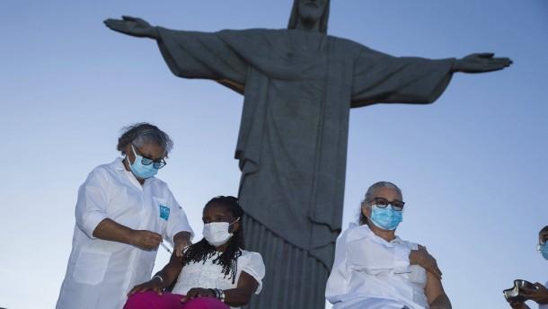 Brasiliens holpriger Start der Impfkampagne