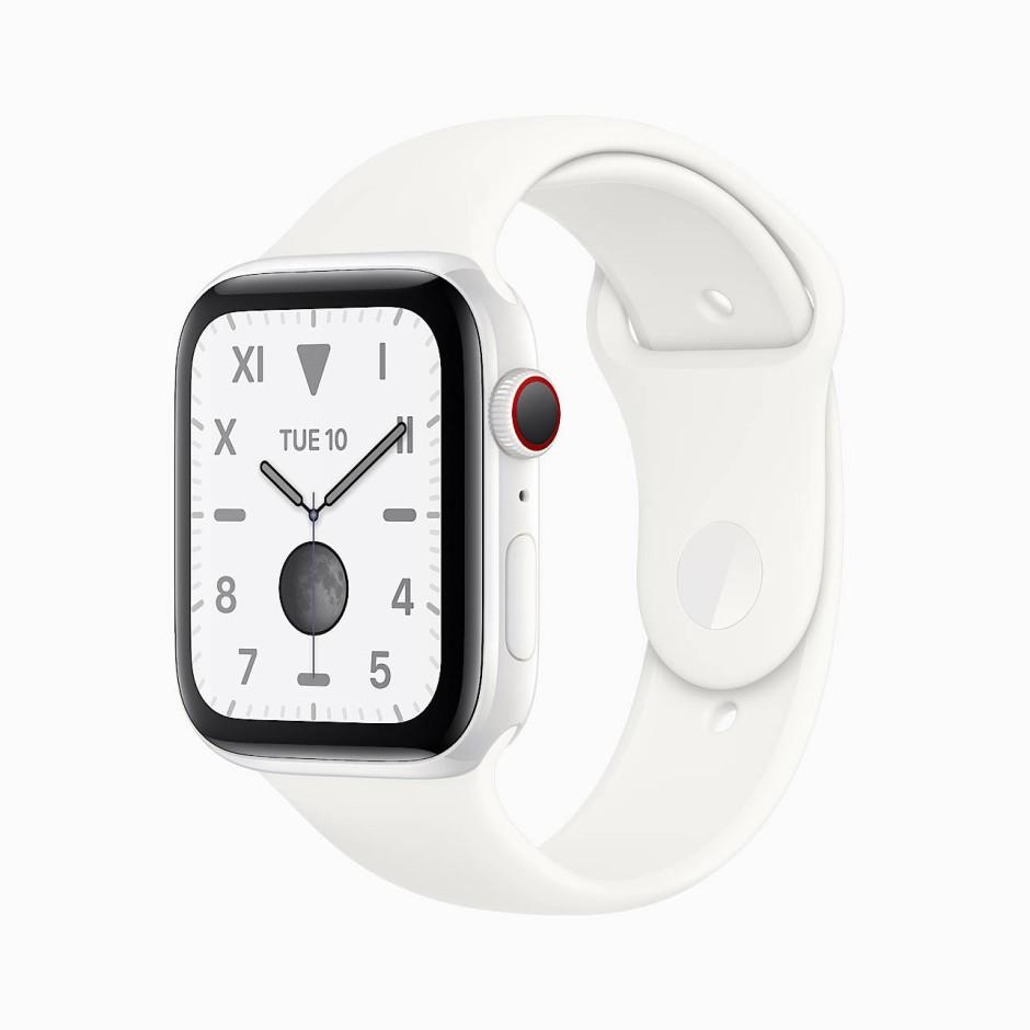 Immer an: Neue Apple Watch Series 5 mit Always-on-Display