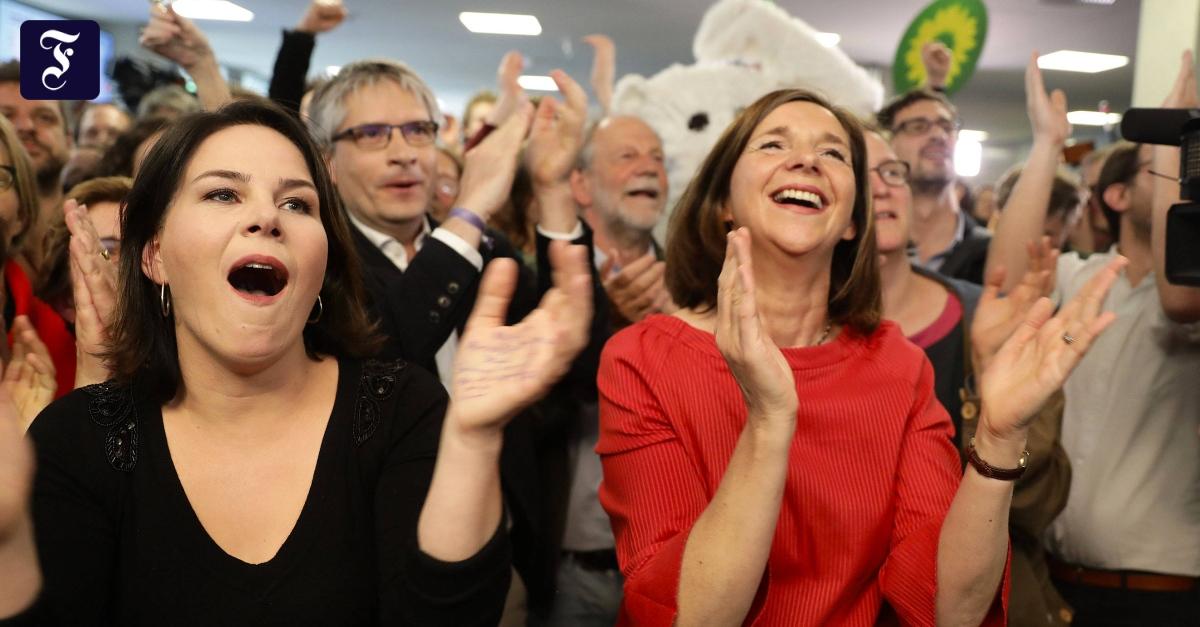 Europawahl: Die Grünen sind zweitstärkste Kraft nach der Union