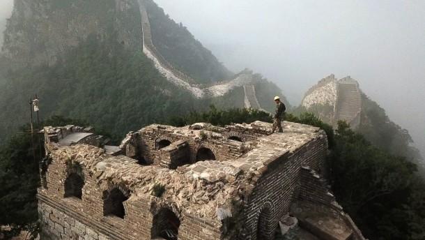 Chinesische Mauer wird saniert