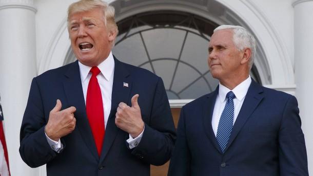 Trippelschritte weg vom Präsidenten