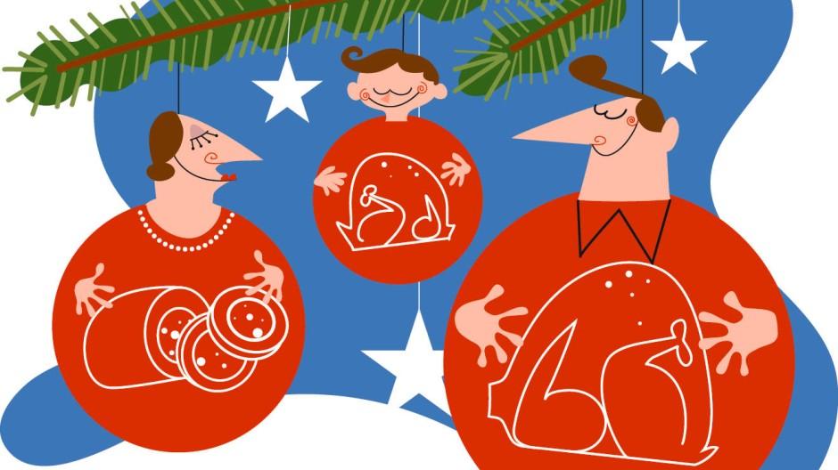 Spanien Weihnachtsessen.Traditionelles Weihnachtsessen In Spanien