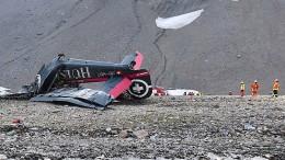 Flugzeugabsturz in den Schweizer Alpen