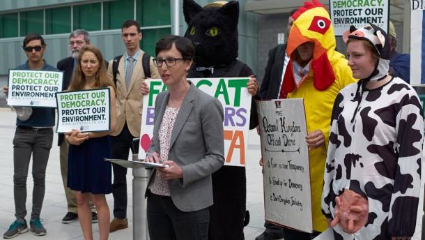 Amerika hat Angst vor britischem Rinderwahn