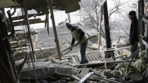 Tote beim Beschuss einer Bushaltestelle in Donezk