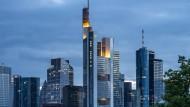 Hauptbaustelle Digitalisierung: Der Turm der Commerzbank in Frankfurt