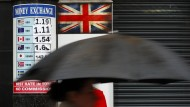 Brexit-Angst am Devisenmarkt