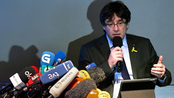Puigdemont will in Deutschland bleiben