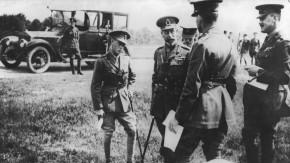 Historisches E-Paper zum Ersten Weltkrieg: Ein Friedens-Frühstück im Buckingham-Palast