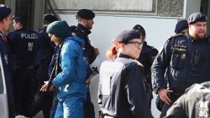 """Wiener Polizei räumt """"gefährliche Situation"""" bei Demo ein"""