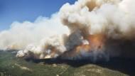 Heftige Brände im Westen der Vereinigten Staaten
