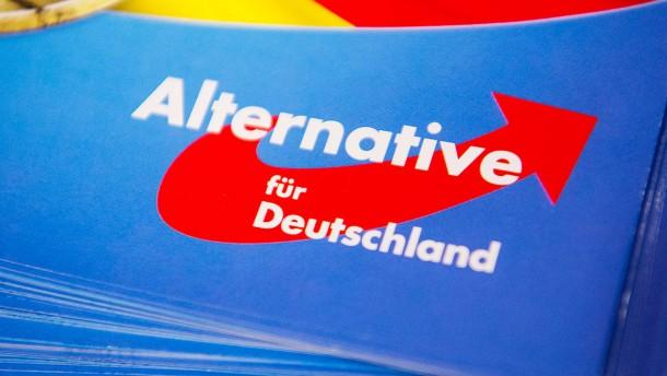 AfD fällt wohl auf fingierten Flyer-Verteiler herein