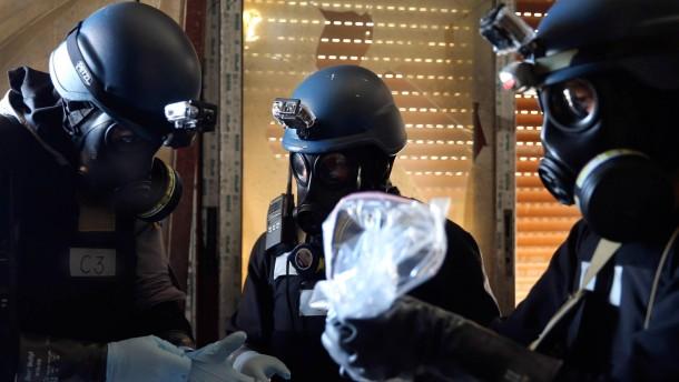 Amerika will Chemiewaffen auf See vernichten