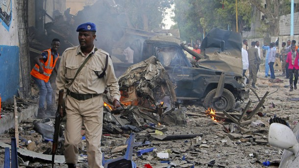 Wieder schwerer Anschlag in Mogadischu