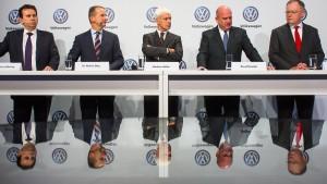 VW will Vorstandsgehälter deckeln