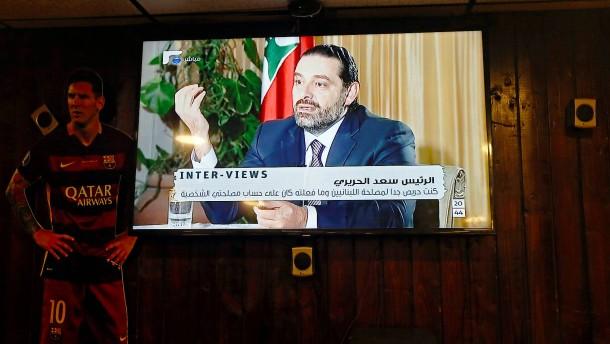 Ehemaliger Regierungschef Hariri kündigt Rückkehr in den Libanon an