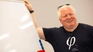 Hightech-Pionier aus Frankfurt: Chris Boos will mit Künstlicher Intelligenz die Unternehmenswelt verändern.