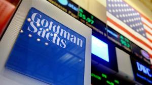 Goldman Sachs verdient ein Fünftel weniger
