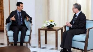 Amerikanischer Botschafter verlässt Damaskus