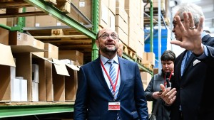 """""""Überzeugt hat mich Martin Schulz bisher nicht"""""""