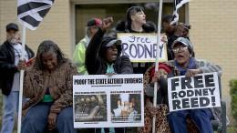 Protest gegen Hinrichtung in Texas